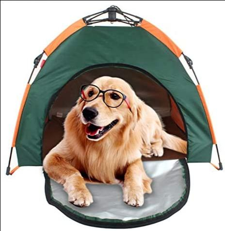 3 interesantes tiendas de campaña para tu mascota